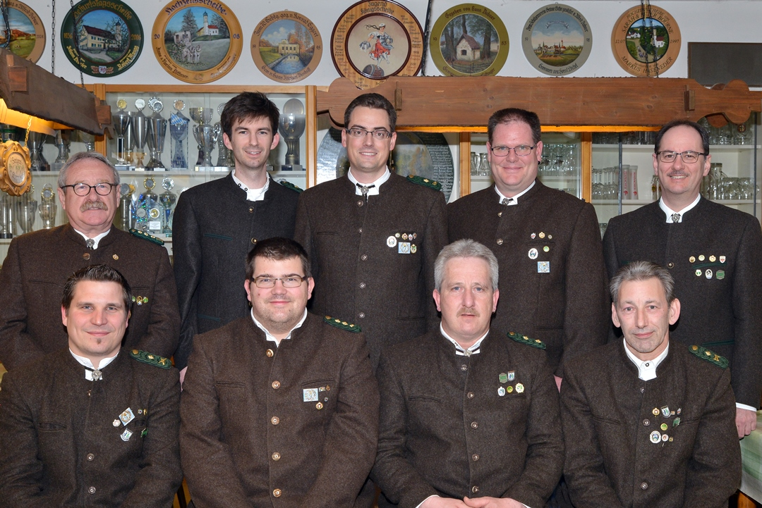 Vorstandschaft 2015